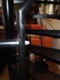 Ocelové točité schodiště